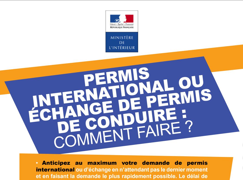 Villeneuve En Retz Permis Internationaux Et Echanges De Permis